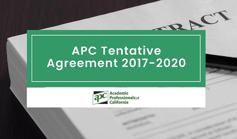 APC Tentative Agreement 2017-2020