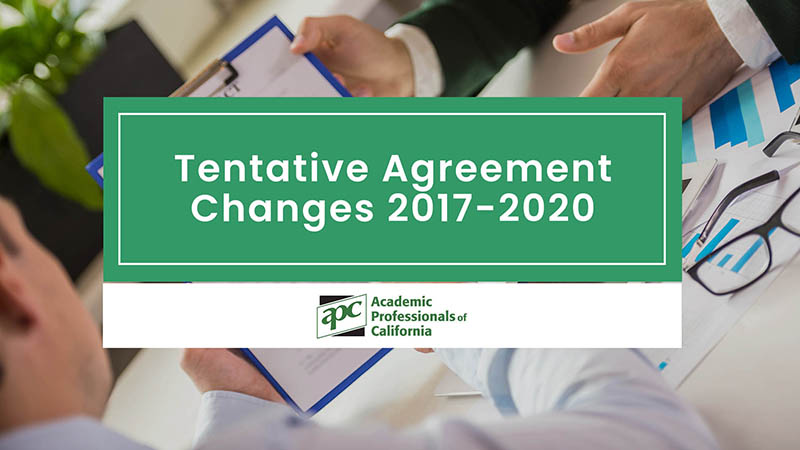 Tentative Agreement Changes 2017-2020