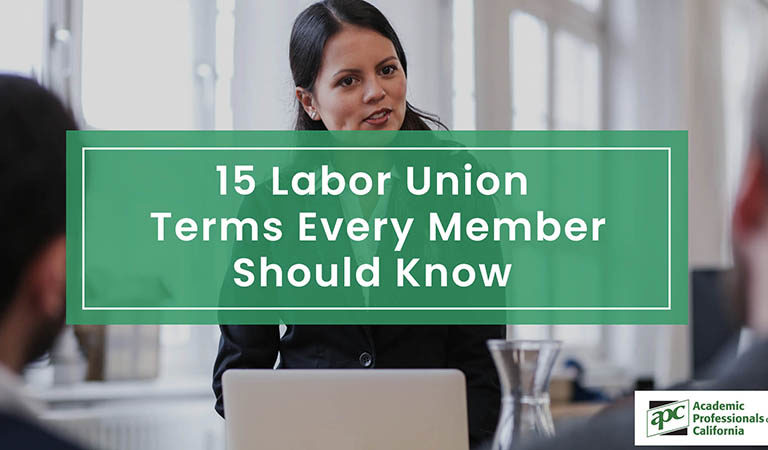 15 Labor Union Terms Every Member Should Know