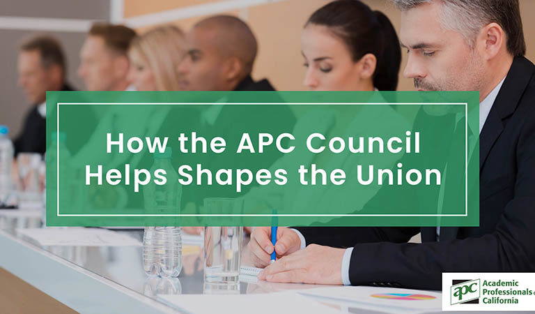 How the APC Council Helps Shapes the Union