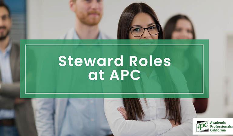 Steward Roles at APC