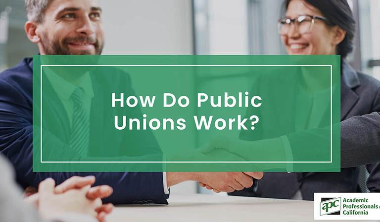 How Do Public Unions Work